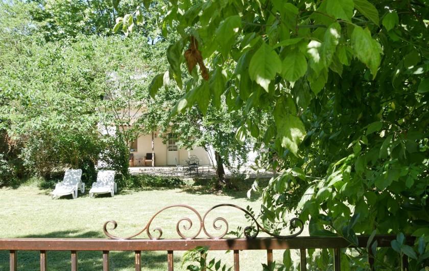 Location de vacances - Mas à Narbonne - Jardin Maison