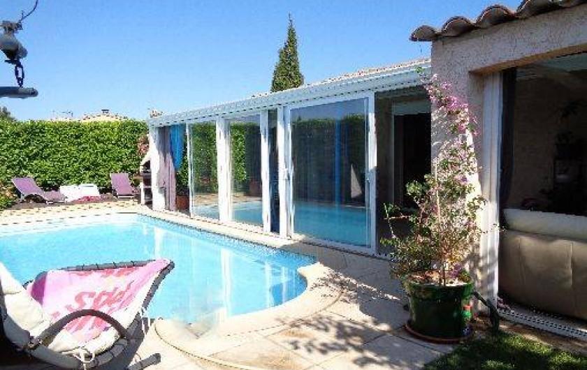 Location de vacances - Villa à La Fare-les-Oliviers