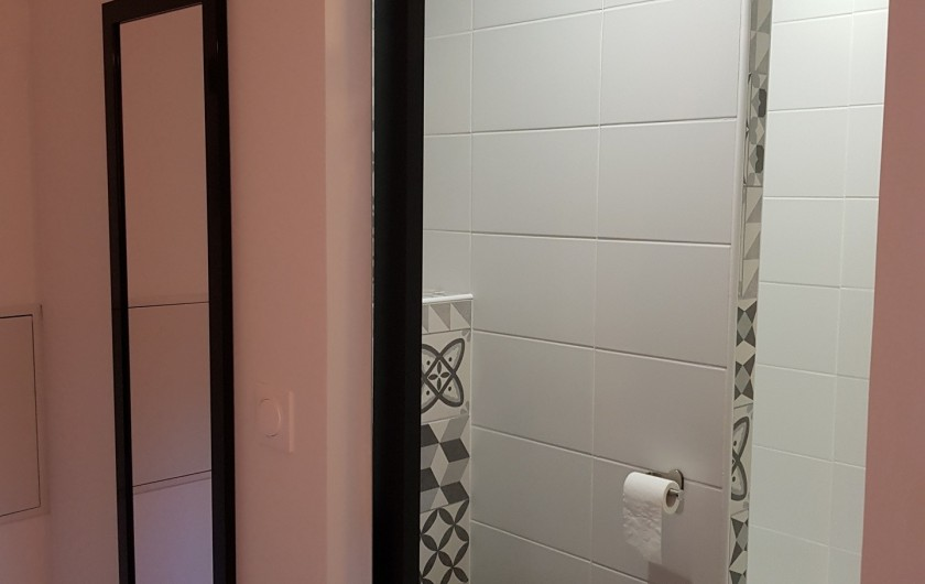 """Location de vacances - Appartement à Saint-Montan - Appartement """"Pastourelle"""" salle d'eau"""
