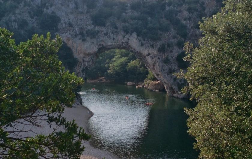 Location de vacances - Appartement à Saint-Montan - Pont d'Arc Vallon pont d'arc