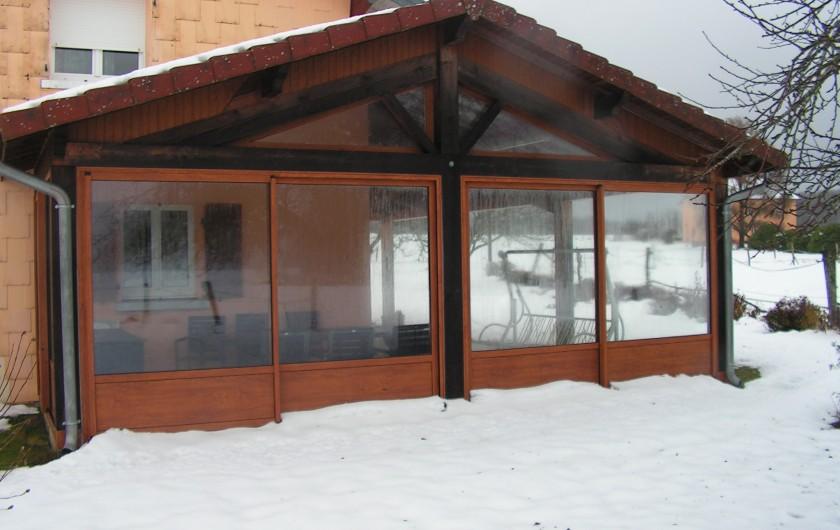 Location de vacances - Chalet à Le Clerjus - coté sud