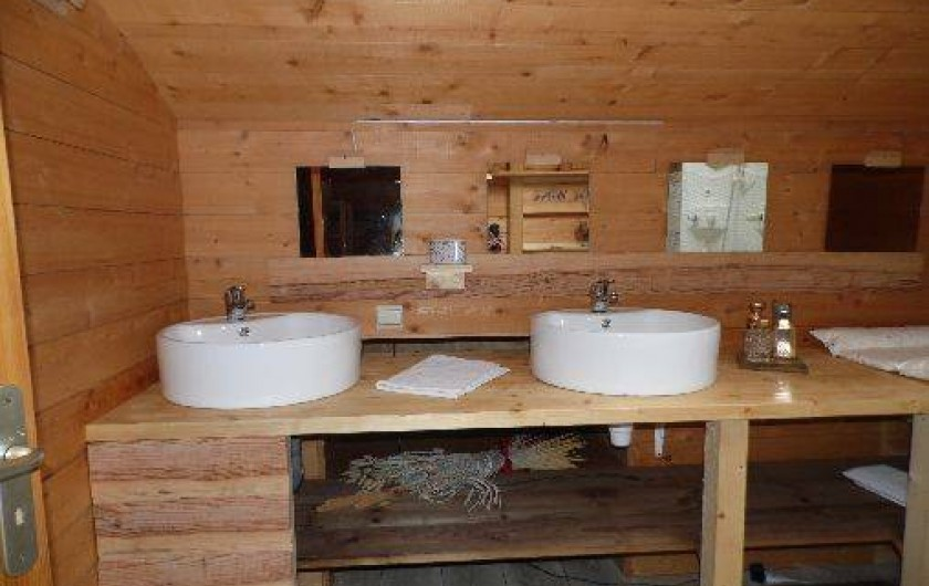 Location de vacances - Gîte à La Bresse - 3 éme salle d'eau