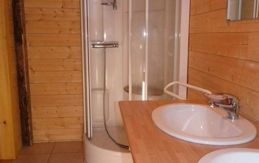 Location de vacances - Gîte à La Bresse - 1 ére salle d'eau