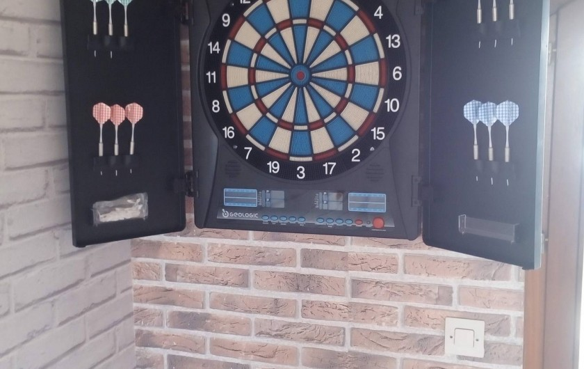 Location de vacances - Gîte à Huillé - Jeux de fléchette électronique