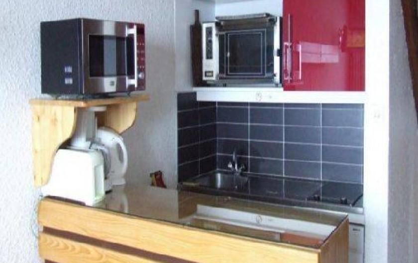 Location de vacances - Appartement à Les Menuires - Coin cuisine
