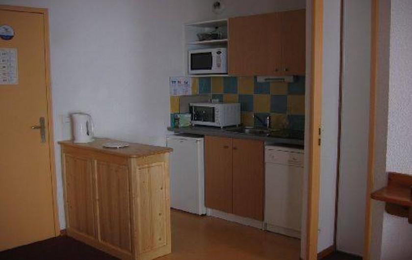 Location de vacances - Appartement à Le Corbier - Coin cuisine