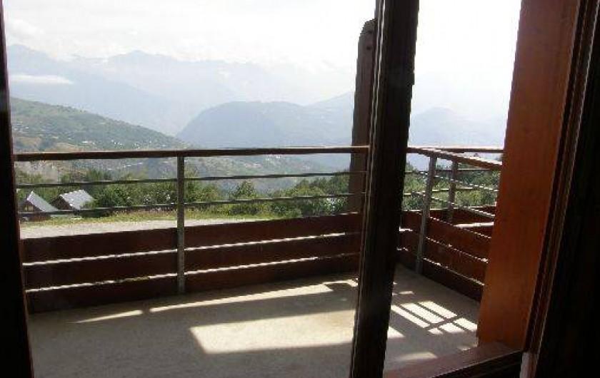 Location de vacances - Appartement à Le Corbier - Loggia