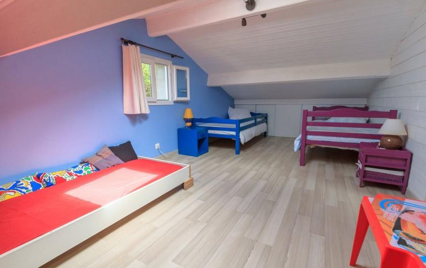 Location de vacances - Villa à Hourtin Plage - Chambre  enfants 1