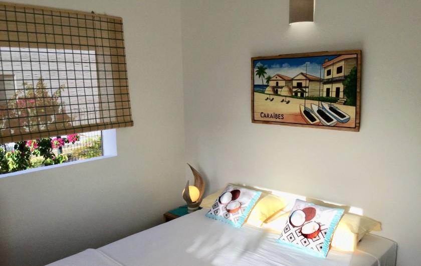 Location de vacances - Villa à Sainte-Anne - Chambre 3 lit 160 x 200