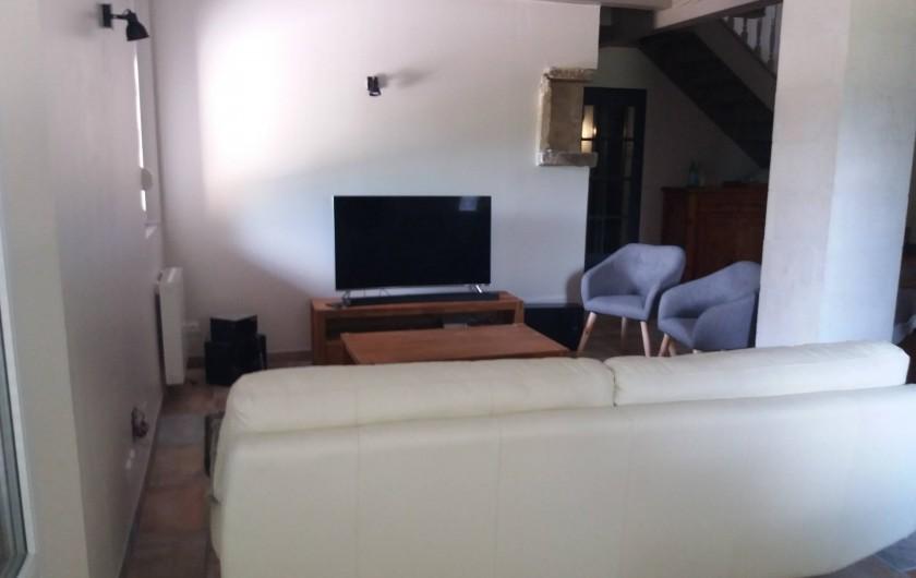 Location de vacances - Villa à Bédoin - coin salon