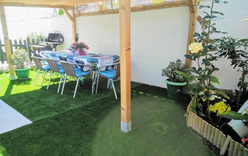 Location de vacances - Villa à Cambrils - Douche-wc-lavabo Appartement 1