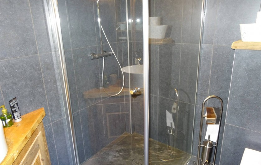 Location de vacances - Chalet à Les Gets - douche 1 + lavabo et WC