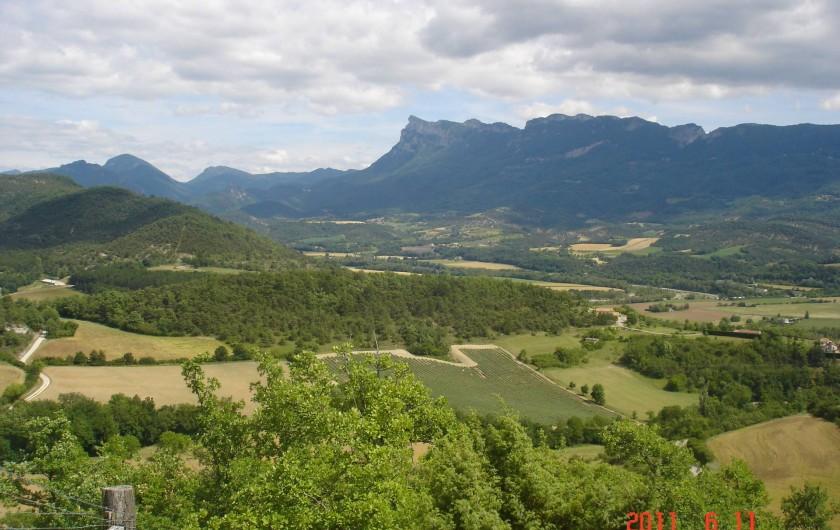 Location de vacances - Mas à Mirabel-et-Blacons - Montagne les 3 becs