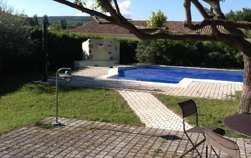 Location de vacances - Villa à Roussas - Terrasse