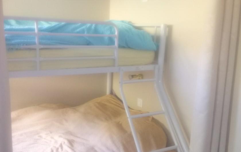 Location de vacances - Appartement à Le Collet d'Allevard - chambre