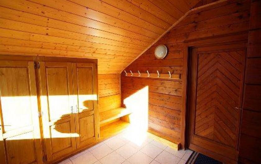 Location de vacances - Chalet à Xonrupt-Longemer - SAS à l'entré, top pour y mettre les skis