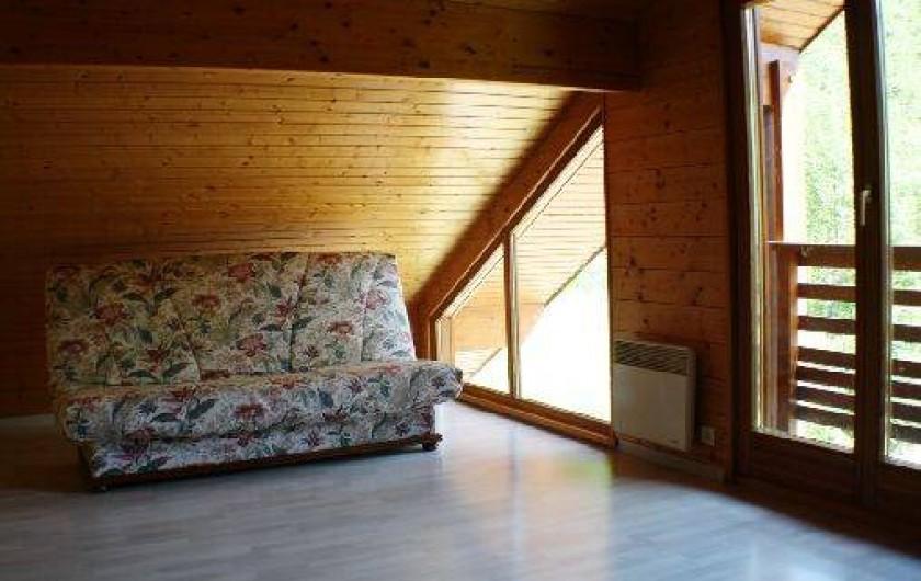 Location de vacances - Chalet à Xonrupt-Longemer - mezzanine