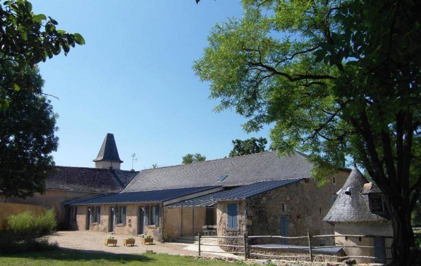 Location de vacances - Gîte à Roussennac - Accès gîte