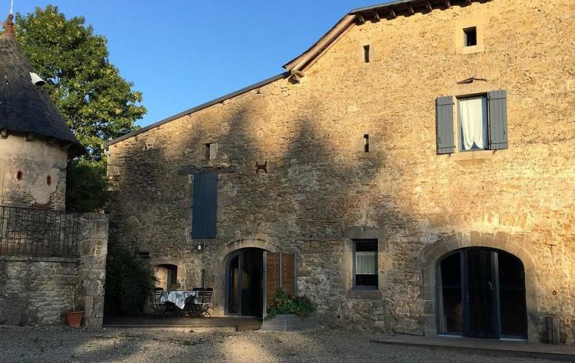 Location de vacances - Gîte à Roussennac - Entrée maison d'hôtes