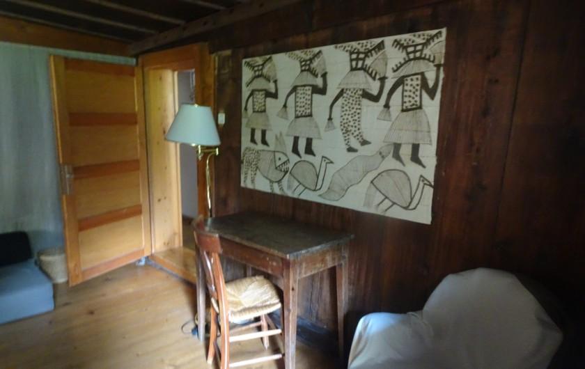Location de vacances - Chalet à Les Houches - Vue sur la salle à manger