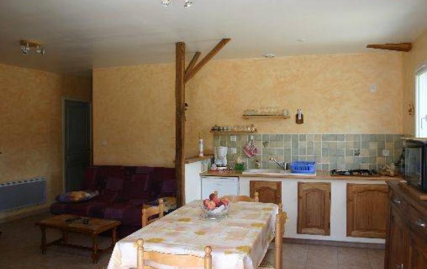 Location de vacances - Villa à Saint-Vincent-de-Barrès