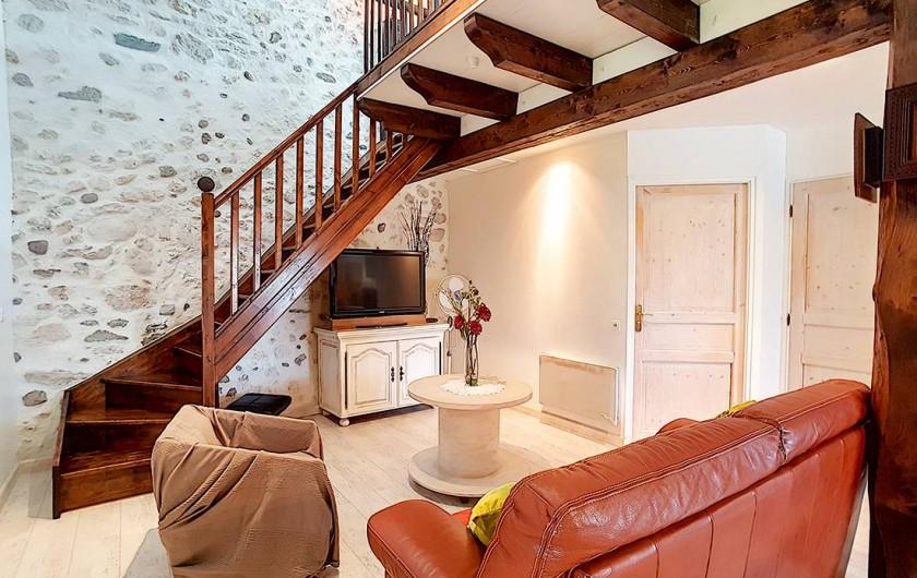 Location de vacances - Appartement à Arandon - VUE D'ENSEMBLE SALON