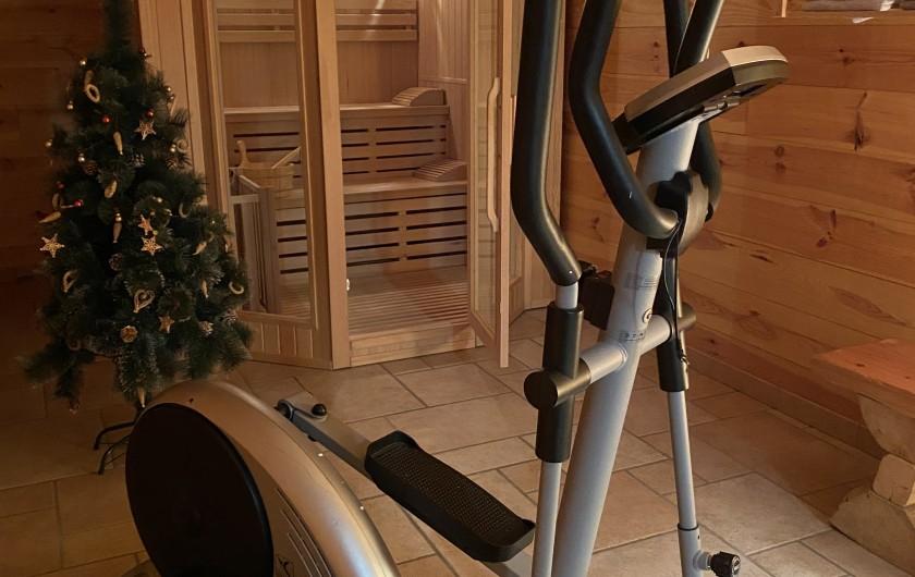Location de vacances - Chalet à Villard-Reculas - Sauna à votre disposition