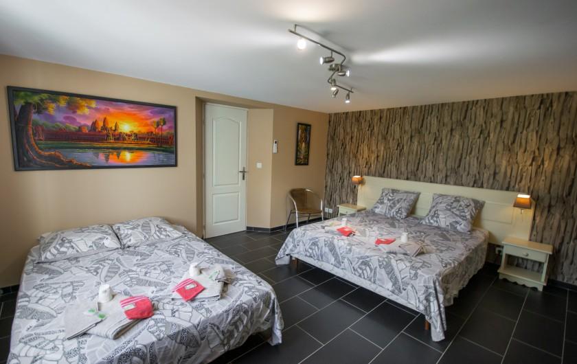 Location de vacances - Villa à Pépieux - BALANCOIRE OMBRAGEE