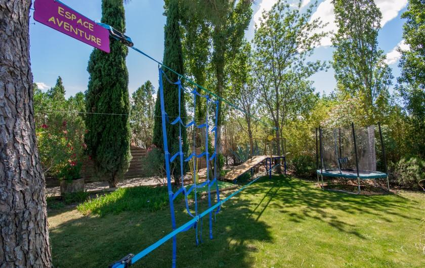 Location de vacances - Villa à Pépieux - AIRE DE JEU POUR LES TOUS PETITS