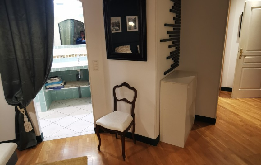 Location de vacances - Villa à Pépieux - SUITE PARENTALE ET LIT BEBE