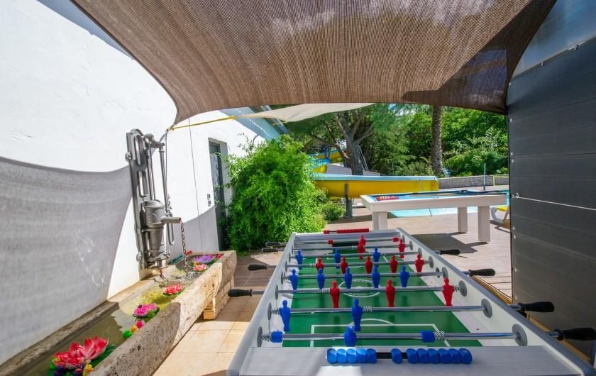 Location de vacances - Villa à Pépieux - COIN TV XXL