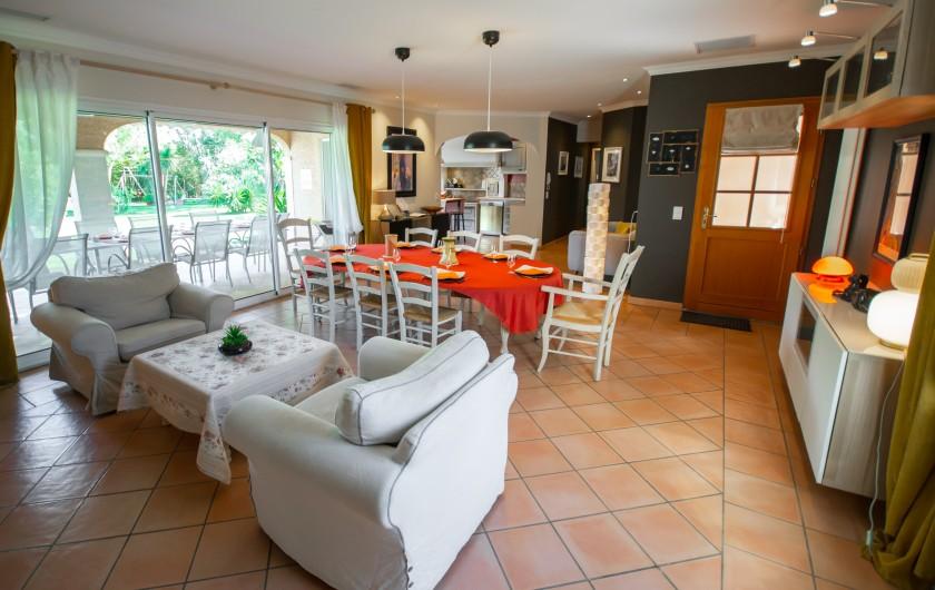 Location de vacances - Villa à Pépieux - SEJOUR ENTREE