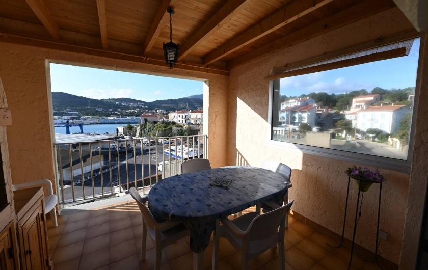 Location de vacances - Appartement à Port-Vendres - terrasse