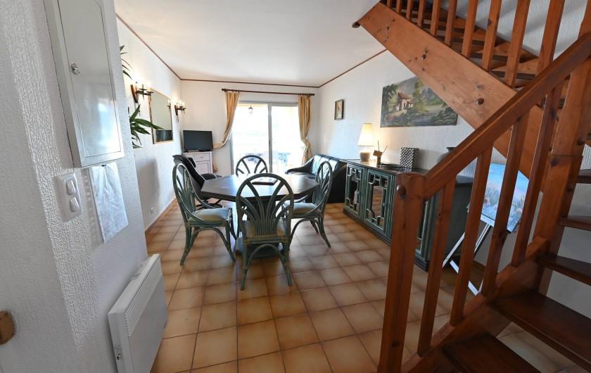 Location de vacances - Appartement à Port-Vendres - salle à manger