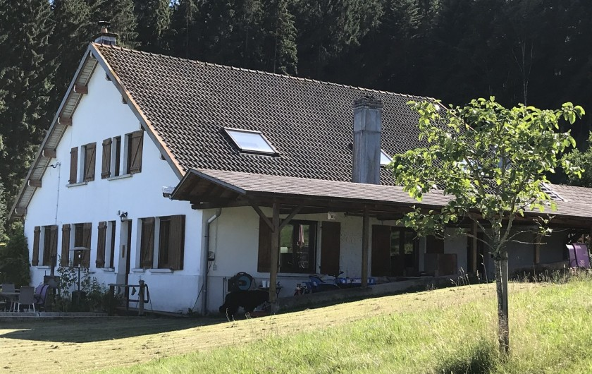 Location de vacances - Chalet à Anould - GITE CHAT