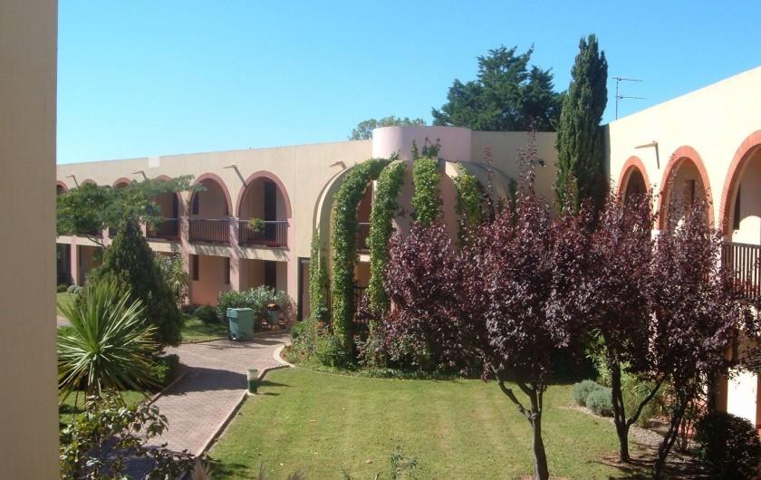 Location de vacances - Appartement à Le Cap d'Agde - ENTRE DE LA RESIDENCE