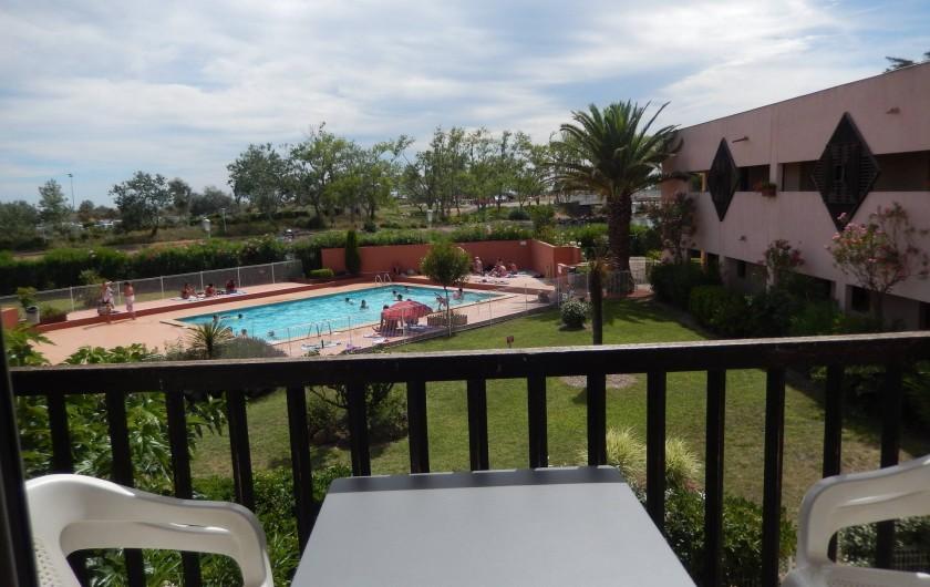 Location de vacances - Appartement à Le Cap d'Agde - PISCINE DANS LA RESIDENCE