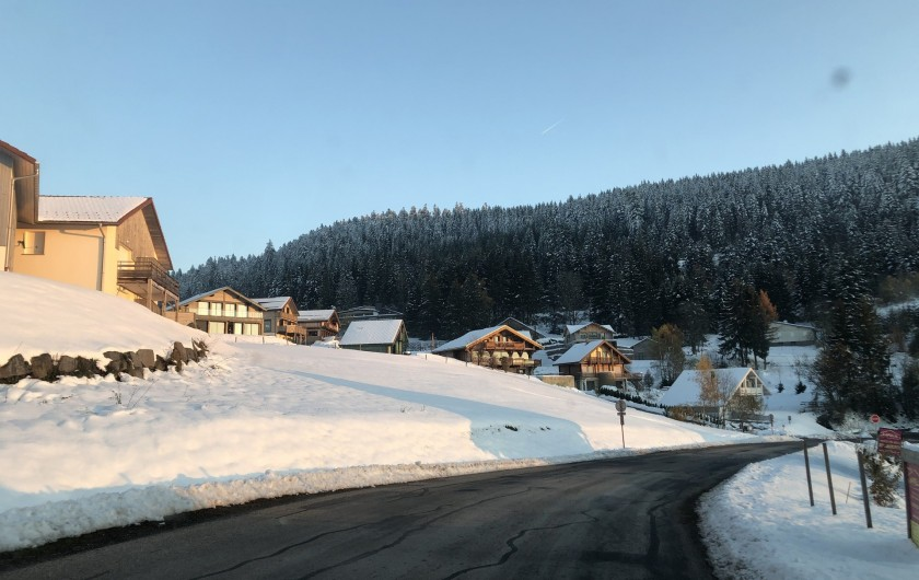 Location de vacances - Chalet à Gérardmer - Route de la Moselaine  à 250m de la station