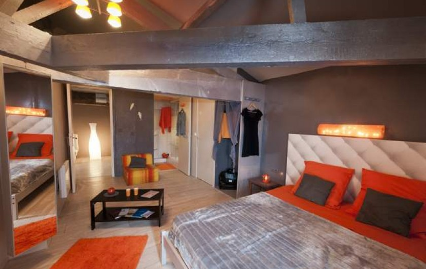 Location de vacances - Chambre d'hôtes à Saint-Yzans-de-Médoc - La suite familiale
