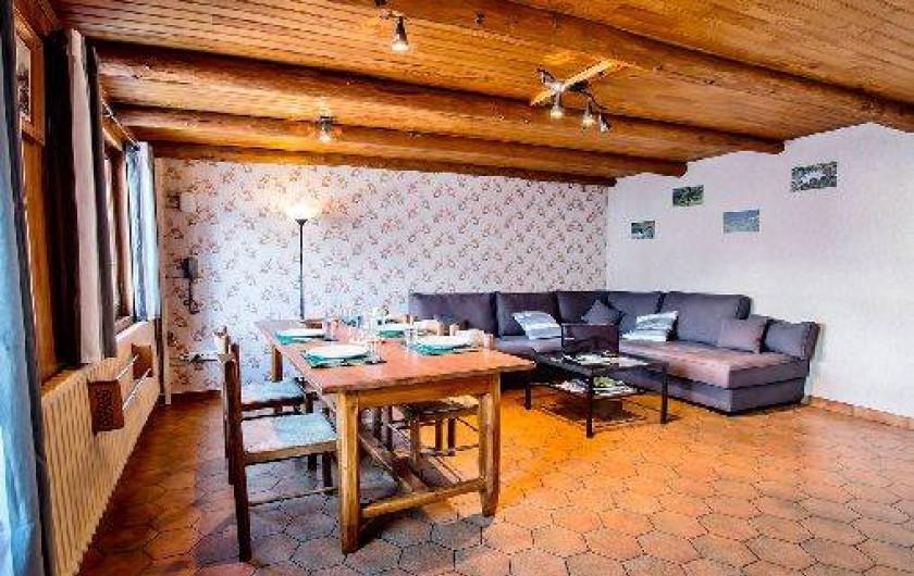 Location de vacances - Chalet à Saint-Véran - La salle à manger