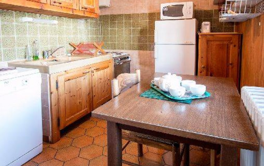 Location de vacances - Chalet à Saint-Véran - La cuisine tout équipée