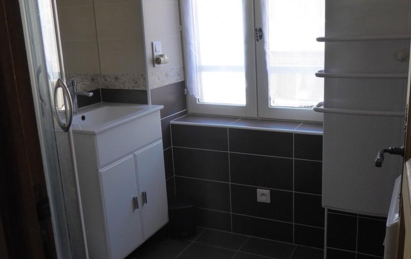 Location de vacances - Appartement à Embrun - Salle de bains