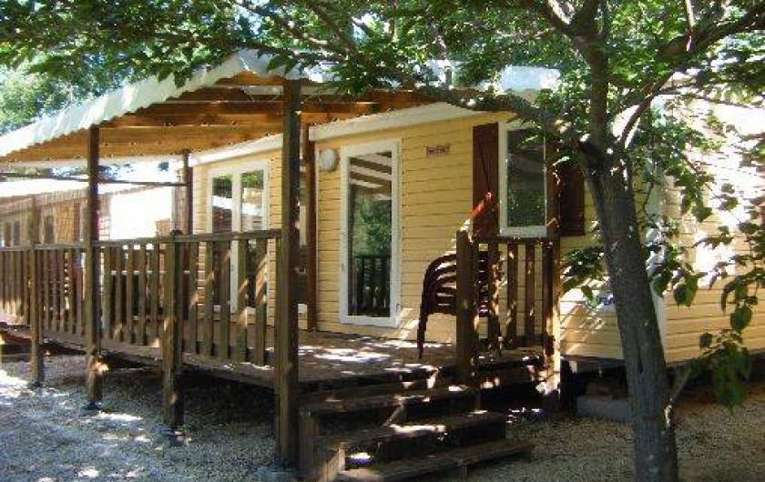 Location de vacances - Camping à Rochegude