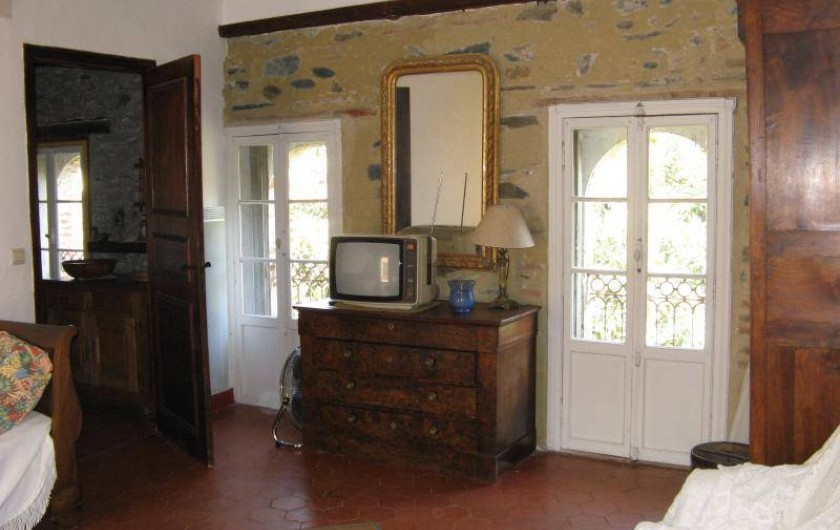 Location de vacances - Appartement à Collioure - une grande chambre 25m2