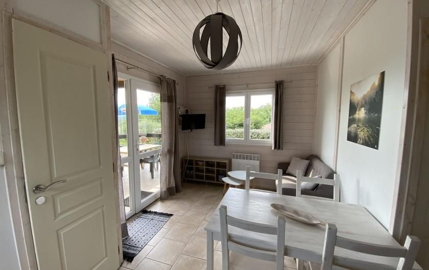 Location de vacances - Gîte à Joyeuse - Interieur gite Romarin 1 (3-4 pers)