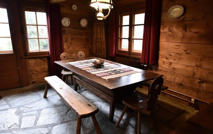 Location de vacances - Chalet à Chamonix-Mont-Blanc - Salle à manger