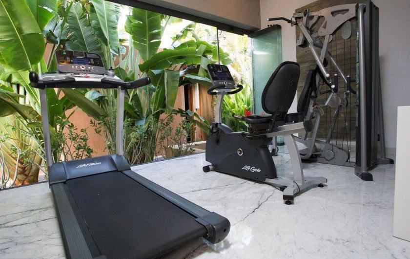 Location de vacances - Chambre d'hôtes à Puerto Escondido - Club de Gym