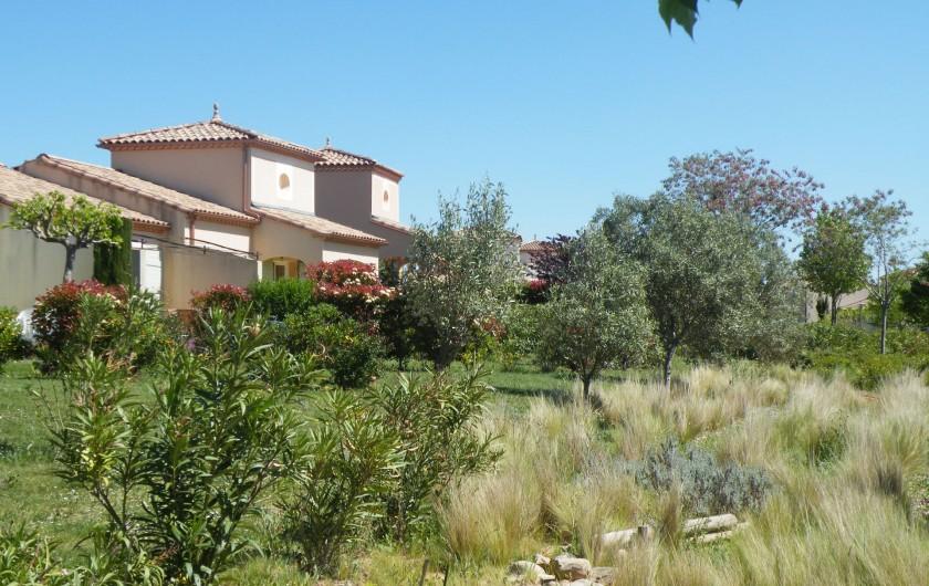 Location de vacances - Villa à Homps - Résidence arboréee
