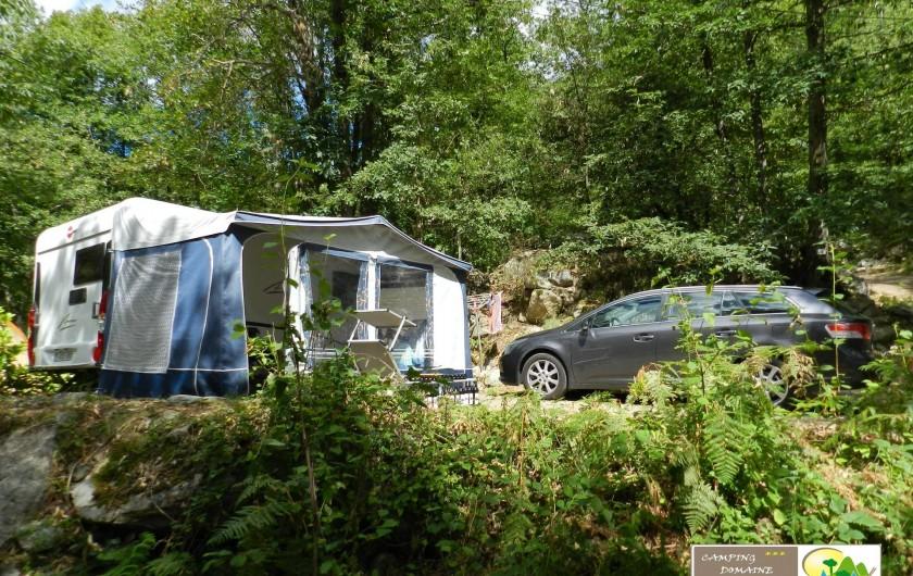 Location de vacances - Bungalow - Mobilhome à Casteil - emplacement caravane