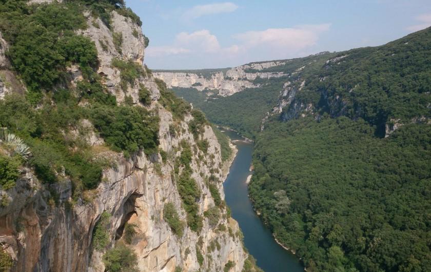 Location de vacances - Appartement à Saint-Montan - Gorges de l'Ardèche